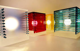 cool table lamps lighting design cubes of color andarina designs brooklyn new york city nyc