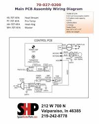 70 027 0200 pinnacle heater parts main pcb assembly click here for wiring diagram