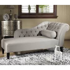 furnitureelegant chaise lounge chair bedroom sitting. baxton studio u0027aphroditeu0027 tufted putty gray linen modern chaise lounge overstock shopping great deals on living room chairs furnitureelegant chair bedroom sitting i