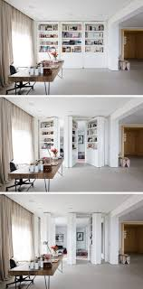 modern private home office. Secret Rooms · This Modern Home Office Private N