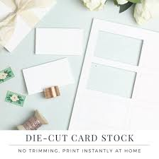 flat place cards flat place card paper perforated paper for place cards and etsy