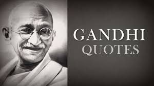 Mahatma Gandhi Quotes - YouTube