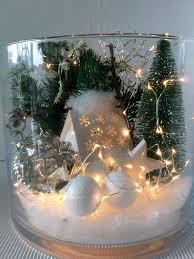 Glas Winterlandschaft Beleuchtet Xl Diy