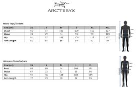 Arcteryx Jacket Size Chart Arcteryx Cerium Lt Mens Insulated Down Jacket Triton