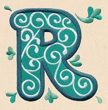 Letter Perfect Letter R Design Ut7609 From Urbanthreads Com