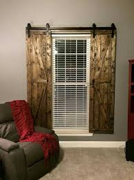 interesting barn door window curtains on curtains and window treatments