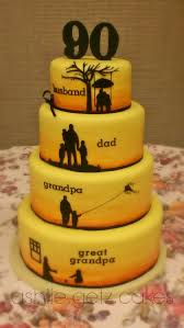 90th Birthday Cake This Will Be Perfect For My Dad Who Will Be 90