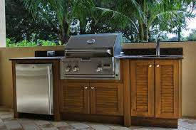 How To Paint Outdoor Kitchen Cabinet