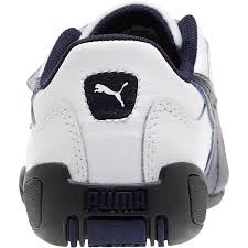 puma tune cat b2 infant toddler kids girls shoes white peacoat