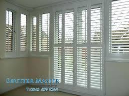 shutters for french doors decoration with creative wooden installing plantation on