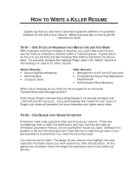 Resume Cover Letter Format Killer Resume Template Sample Cover Letter Format Templates 96