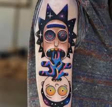 Rick And Morty Tattoo Atbge идеи для татуировок татуировки и