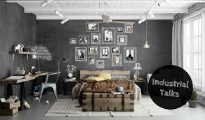 industrial bedroom design.  Industrial Industrial Talks How To Create An Bedroom Design FEAT Inside B