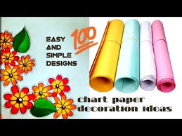 Videos Matching Chart Paper Decoration Ideas For School