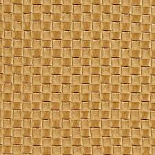 golden yellow woven rattan faux leather vinyl by the yard 1