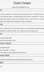 Free Resume Builder No Cost Inspiration Free Resume Builder No Cost Formatted Templates Example