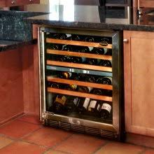 ... under the counter wine refrigerator