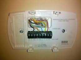 how to hook up a thermostat 4 wires how do i hook up a new how