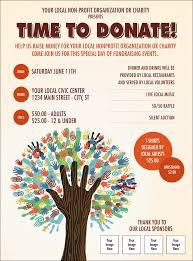 Fundraising Flyer Tree Flyer 7