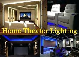 Theater Room Lighting Layout Top Tips For Home Theater Lighting ...