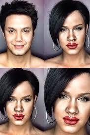 this man uses makeup to transform himself into katy perry rihanna beyonce