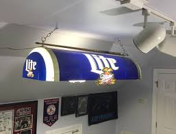 beer pool table light