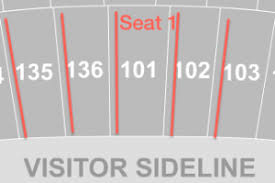 Chiefs Seating Chart With Rows Kansas City Chiefs Seating Chart Seat Views Tickpick