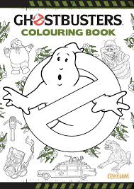 Small Picture Ghostbusters Doodle Colouring Book Amazoncouk Centum Books