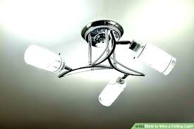 ceiling lights ceiling light fixture box install a wiring image titled wire fi