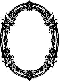vintage mirror drawing. Vintage Mirror Drawing D