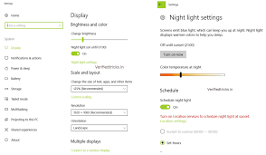 Blue Light Filter Windows Phone How To Enable The Blue Light Filter Feature On Windows 10 Pc