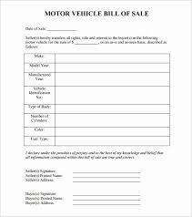 30 Auto Bill Of Sale Word Template Pryncepality