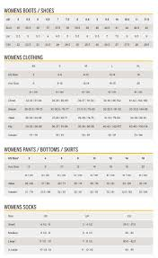 Sperry Shoe Size Chart In Inches Comprehensive Size Chart