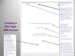 Apa Publication Manual 6 Th Ed Examples And Illustrations Note