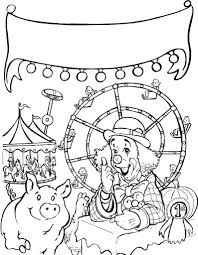 insider carnival coloring pages preschool cat co
