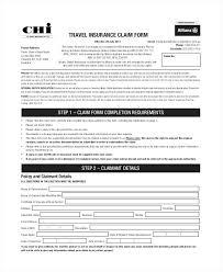 Travel Claim Form Sample Dstack Co