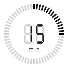 Timer For 15 Min The Digital Timer 15 Minutes Electronic Stopwatch With A Gradient