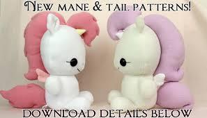 Free Plushie Patterns Fascinating Free Plushie Sewing Pattern Pony Horse Mane
