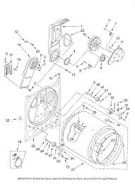 Amana model ned5400tq0 residential dryer genuine parts amana dryer wire amana dryer diagram