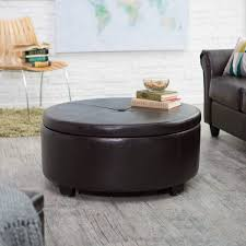 Ottoman In Living Room Storage Living Room Ottoman With Storage Drmimi Us Leather Coffee