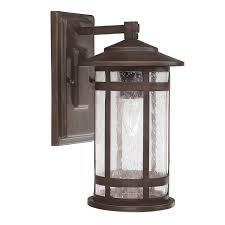 1 light outdoor wall fixture