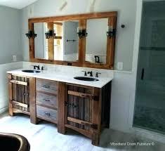 bathroom cabinet remodel. Reclaimed Wood Bathroom Vanity Decoration Vanities Rustic Inside Distressed Remodel Mirror Uk Cabinet