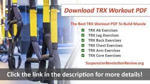 Download The Best Trx Workout Pdf To Build Muscle Youtube