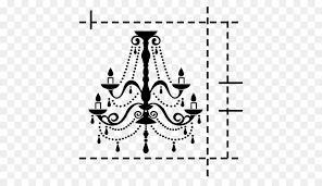 chandelier silhouette drawing clip art chandelier