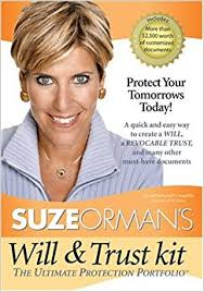 Suze Orman's Will & Trust Kit: Suze Orman: 9781401905675: Amazon ...