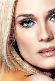 if you have blue eyes the right makeup is the one that enhances the natural color of your eyes and doesn t overpower them for a daytime look