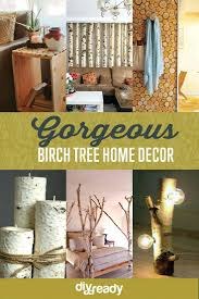 white birch tree decor home decors projects craft ideas how for room see  more at projectscom