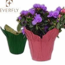 Paper Flower Pots Home Decoration Kraft Paper Plant Pot Covers Buy Paper Plant Pot Covers Paper Flower Pot Sleeves Paper Flower Pot Sleeves Product On Alibaba Com