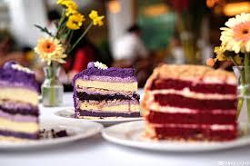 Ube Velvet Cake Union Jakarta Anakjajancom