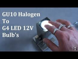<b>GU10 220V</b> to G4 12V <b>LED Light</b> Make <b>Bulbs</b> - YouTube